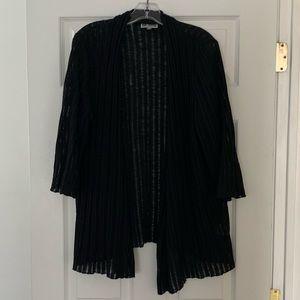 JM Collection black cardigan 1X